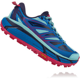 Hoka One One Mafate Speed 2 Schuhe Damen imperial blue/antigua sand